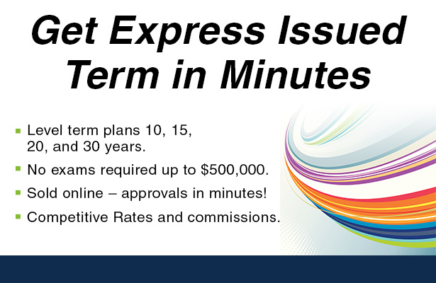 Get Express Issued Term in Minutes.