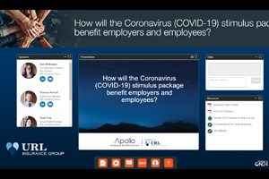 How will the Coronavirus (COVID-19) stimulus package benefit employers and employees?
