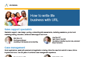 How to write life business with URL