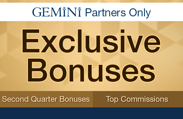 Exclusive Bonuses. First quarter bonuses, and top commissions.