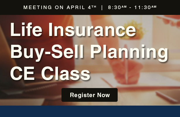 Life Insurance Buy-Sell Planning CE Class.