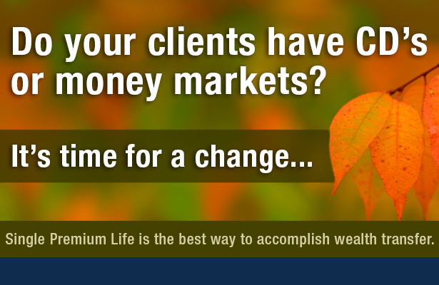 Do your clients have CD's or money markets? It's time for a change...