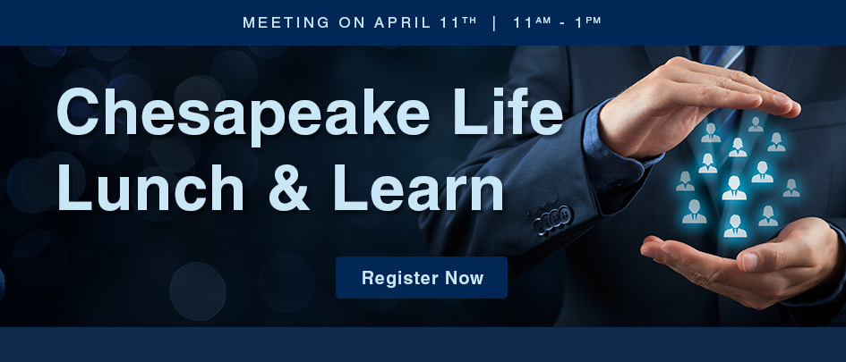 Chesapeake life lunch and learn.